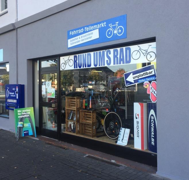 Fahrradgeschäft Dortmund Rund ums Rad Strassenansicht