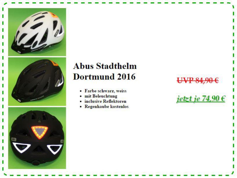 Angebot Stadthelm Dortmund
